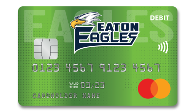 Eaton Eagles Debit Card