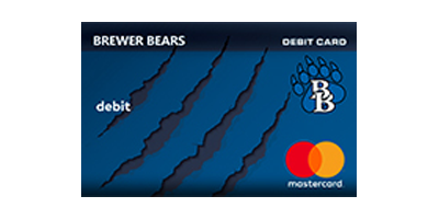 Brewer Bears Debit Card