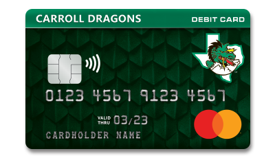 Carroll Dragons Debit Card